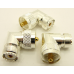 UHF Male/Female Right Angle Gold Plated Teflon Connector