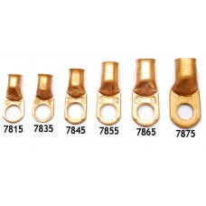 "1/2"" Copper Lug- Fits 1 Gauge,"
