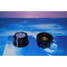 1-1/16in Plastic Instrument Knobs, 6mm Shaft