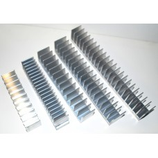 "4.250"" Wide Extruded Aluminum Heatsink"