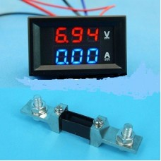 Digital LED Amp & Volt  Meter  200