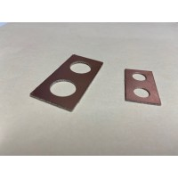 Small Copper End Plates