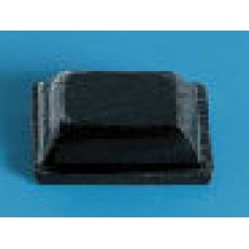 Black Self Adhesive Rubber Feet (Pack of 12)