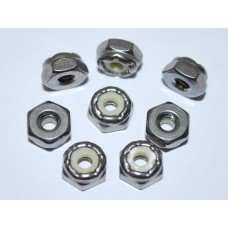 Nyloc Nut 6-32 (Pack 100)