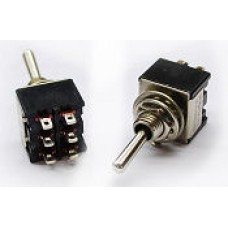 DPDT Toggle Switch On-On / On-Off W-34
