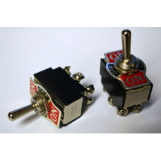 DPDT Full Size Toggle Switch On-Off-On